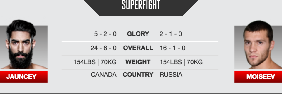 Jauncey VS Moiseev at GLORY 31