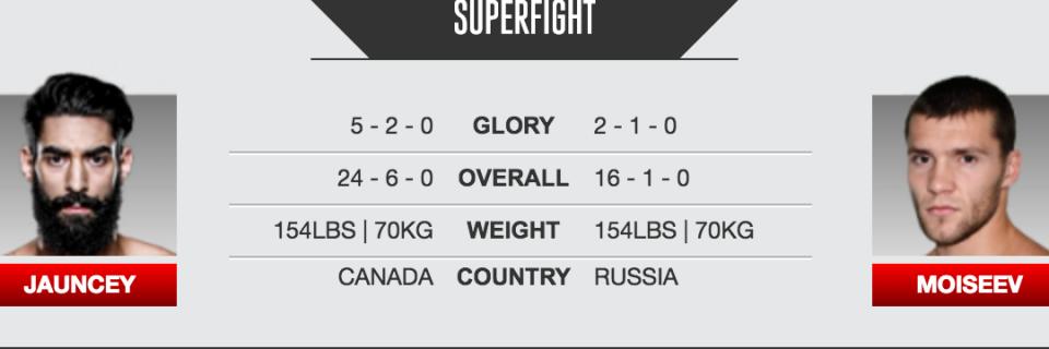Jauncey VS Moiseev at GLORY 31